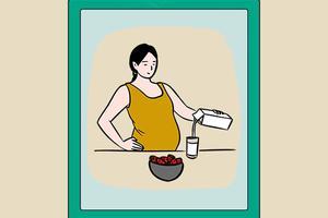 孕妇怀孕期间到底吃什么好?