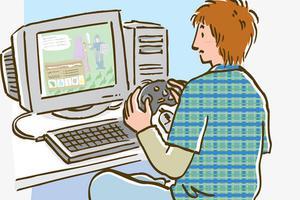 青少年对电子产品过度依赖 影响身心健康