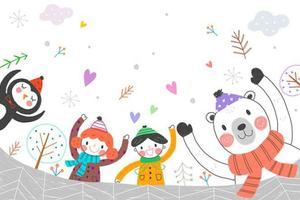 如何帮助孩子度过一个快乐的寒假?