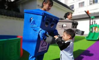 垃圾分类教育进幼儿园
