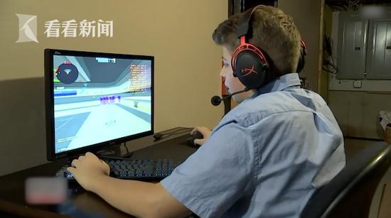 14岁男孩打游戏发现异样 一通电话救下轻生网友