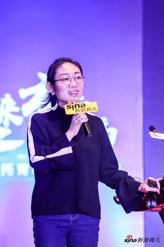 """新东方在线儿童产品事业部总经理 """"新东方多纳""""品牌创建人 陈婉青"""