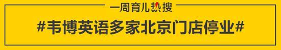 韦博英语多家北京门店停业