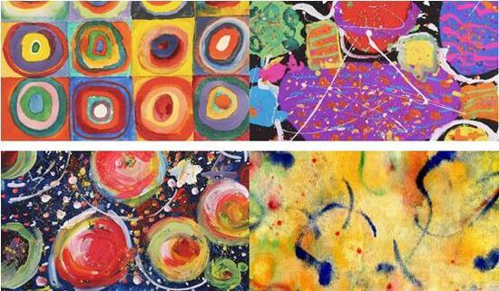 你分辨得出,哪幅是大师画,哪幅是儿童画吗?