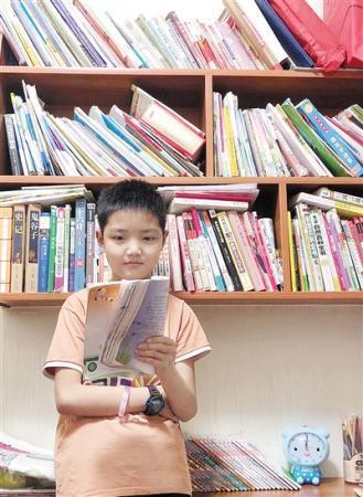 对语文课本提出质疑的五年级学生 黄圣凯