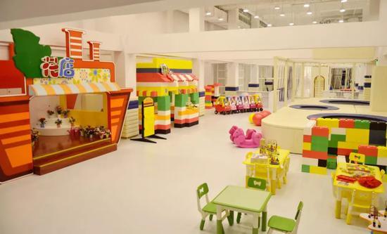 负一层有一个1200平米儿童俱乐部。