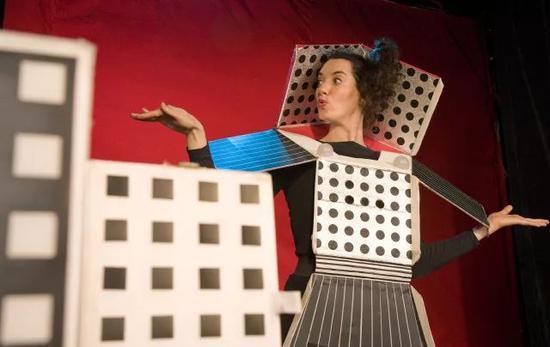 儿童剧《方块马戏团》