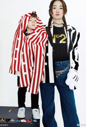 霍思燕嗯哼拍时尚大片超帅气