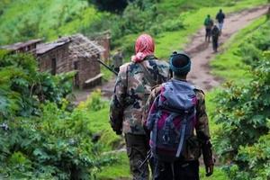 刚果(金)民兵强奸数十名幼童致2死 被判终身监禁