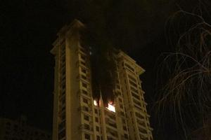 辽宁抚顺小区15楼着火 19楼3岁男孩在家被烟熏死
