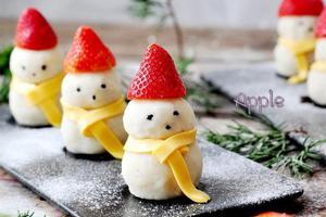 做个酸甜开胃的小雪人吧(图)