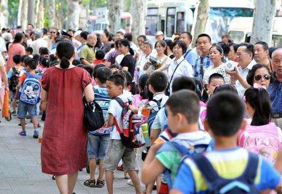 94.8%家长望推广弹性离校:放学时七成