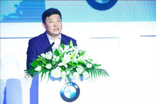 [宝马(中国)汽车贸易有限公司总裁刘智博士致辞]
