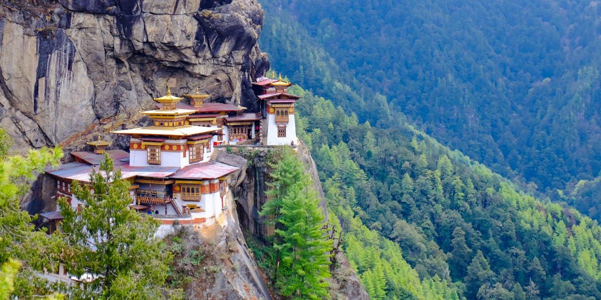 悬崖上的寺庙