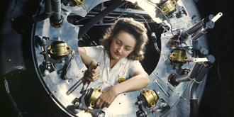 二战时期的彩色老照片