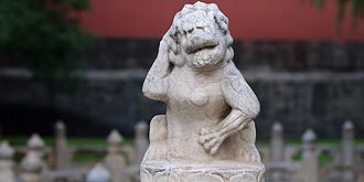 """故宫""""护裆萌狮""""爆红"""