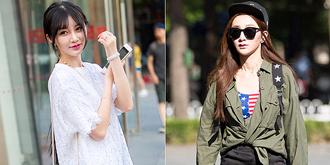 北京街头时尚潮人
