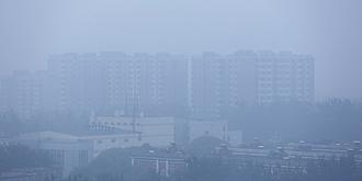 京城雾霾笼罩
