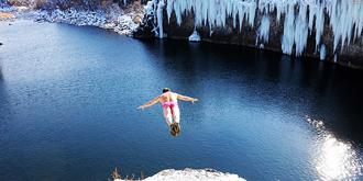 镜泊湖的冬天可以这样玩