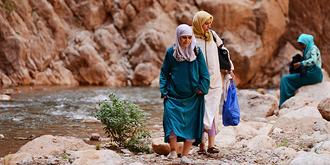 摩洛哥人避暑的秘境