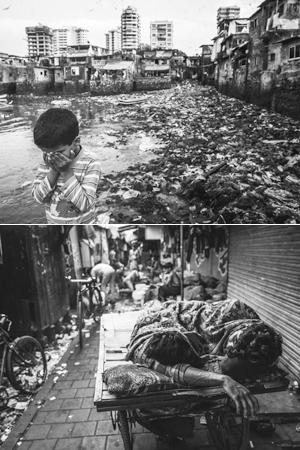 触目惊心的亚洲最大贫民窟