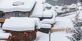 雪乡好大的雪