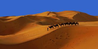 绝妙的沙漠风光