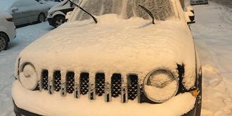 大连下了一场大雪