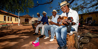 古巴小城的市井生活