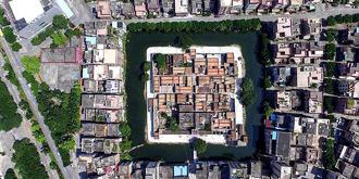 四面环水的神奇古村