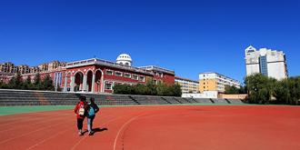 内蒙古全区最大的万人高中