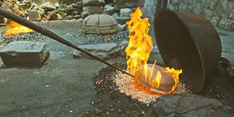 最原始的砂锅制作技艺
