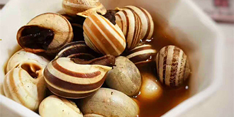 摩洛哥传统美食煮蜗牛啥滋味