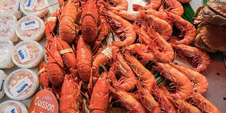 诺曼底的大虾为何煮熟卖