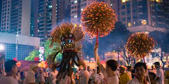 香港大坑火龙,百年文化遗产