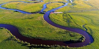 虎林湿地,壮美又旖旎