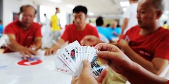 万人扑克大赛火热开场