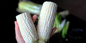 超解馋!能生吃的牛奶水果玉米