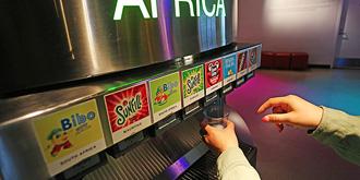 在这里畅饮可口可乐100种汽水