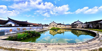 中国古城池活化石