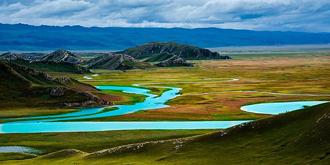中国最美湿地巴音布鲁克