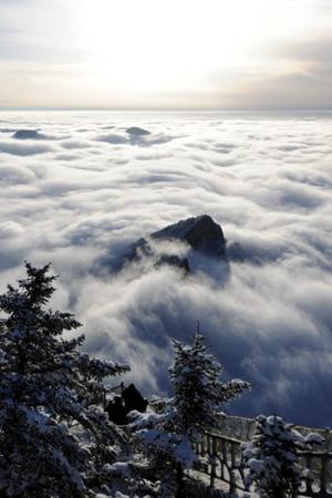 海拔3000米观醉美贺兰云海