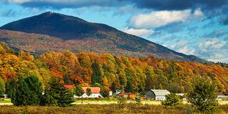 魁北克之秋,美得像童话