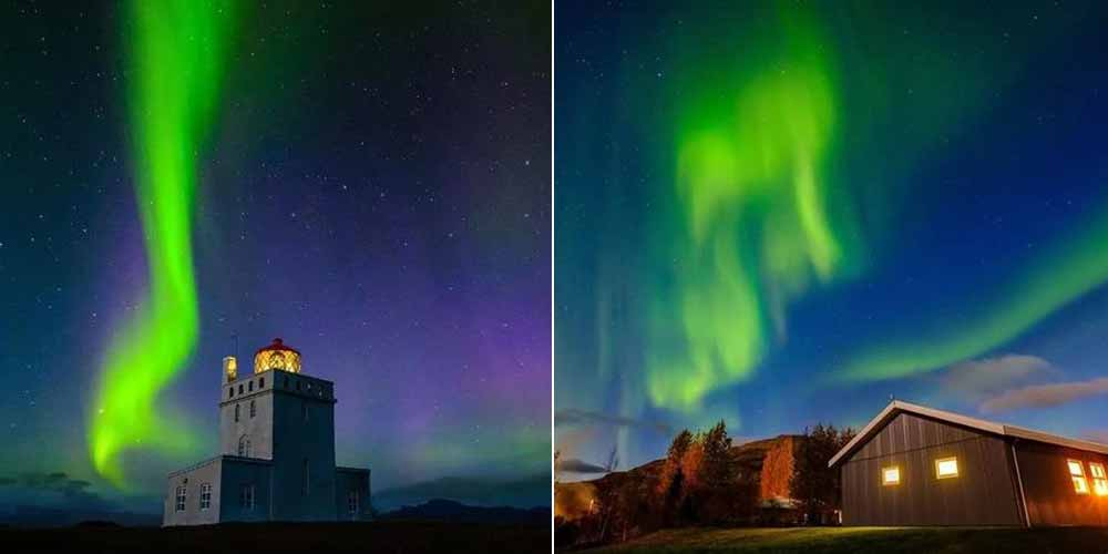去冰岛拍最美极光