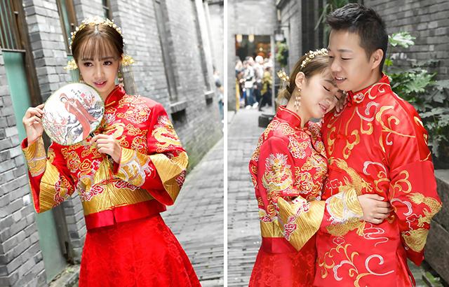为啥新人选择这条陋巷拍婚纱照?