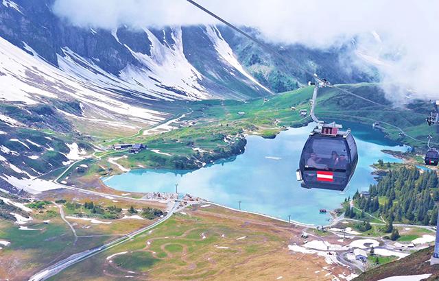 来瑞士一定不能错过这几座山峰