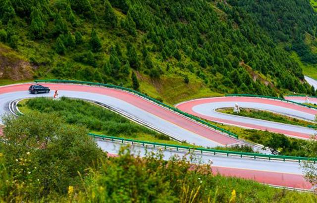 中国最美的盘山公路,不输七十二道拐