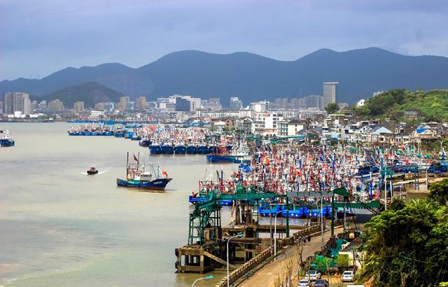 东门渔村开渔节!渔船整装待发场面壮观