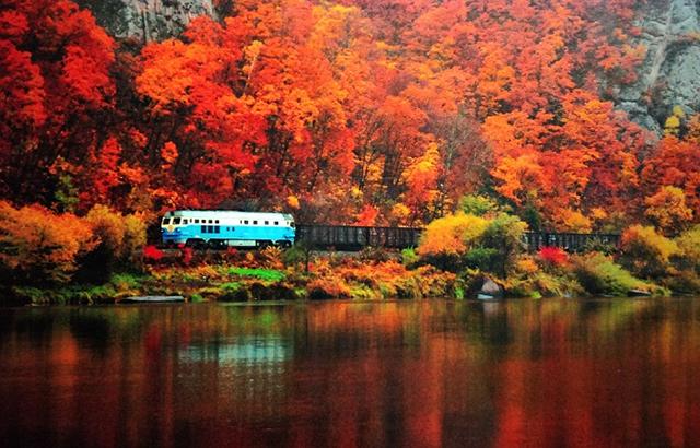 唯美震撼!《美丽中国魅力铁路》摄影展