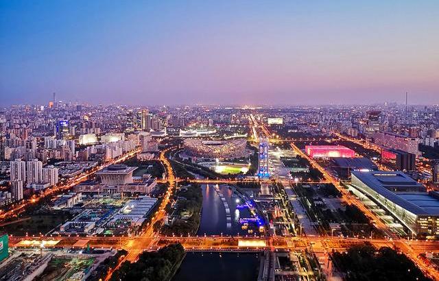 我和我的祖国:京城夜色灯火璀璨